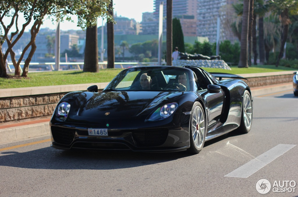 1485 monaco 035 918 porsche 918 spyder registry. Black Bedroom Furniture Sets. Home Design Ideas
