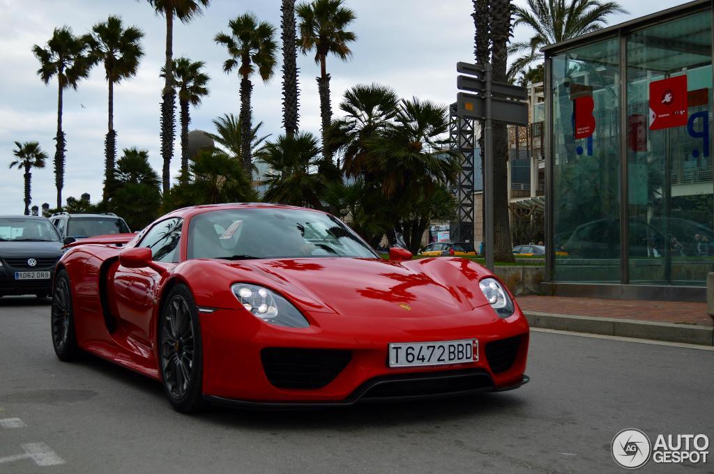 T6472 Bbd Spain Provisional 628 918 Porsche 918 Spyder Registry