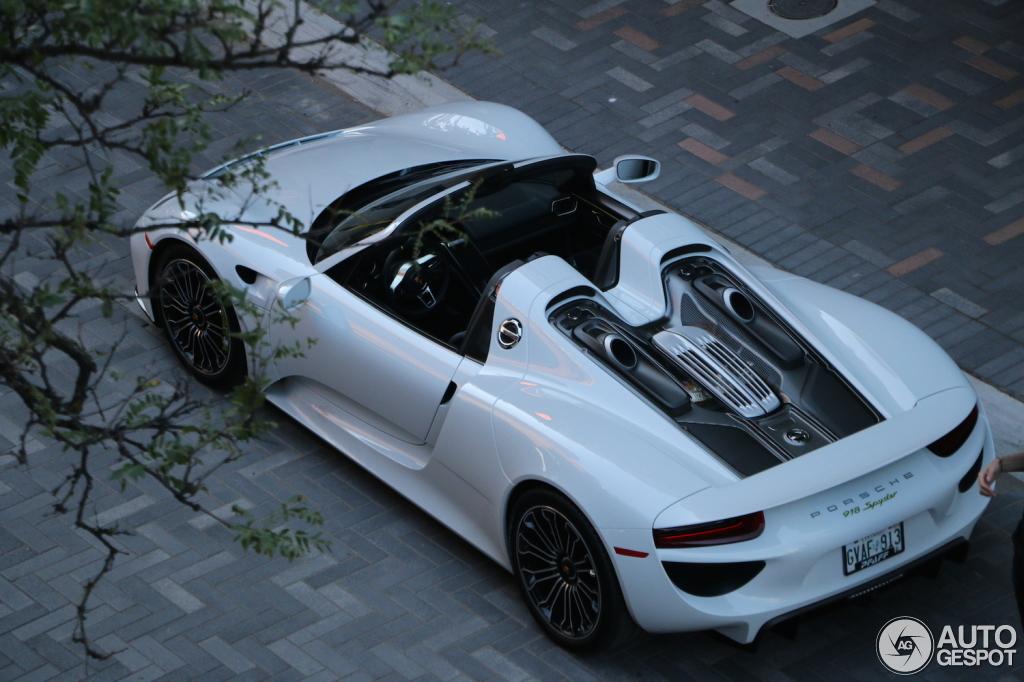 Gvaf 913 Canada 503 918 Porsche 918 Spyder Registry